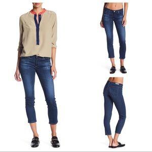 AG Stevie Capri Slim Straight Jeans